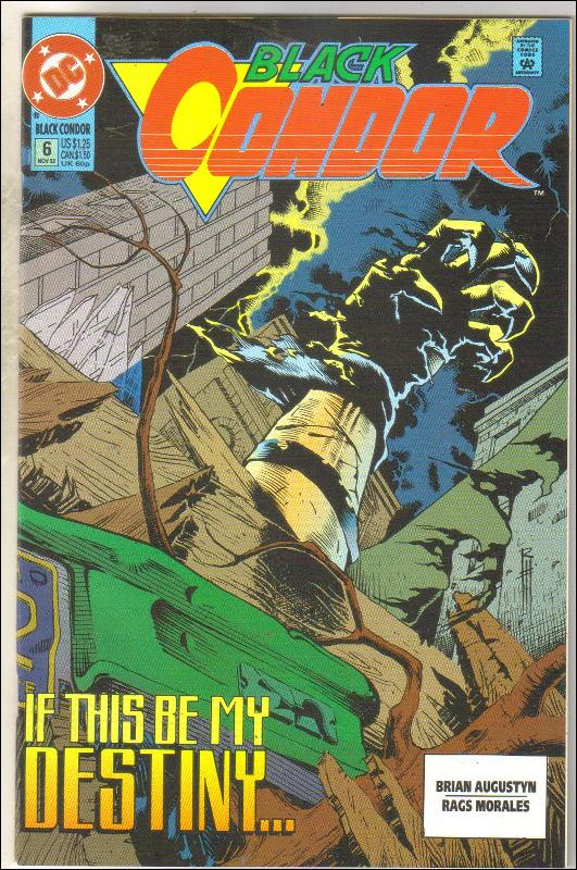 Black Condor #6 comic book near mint 9.4