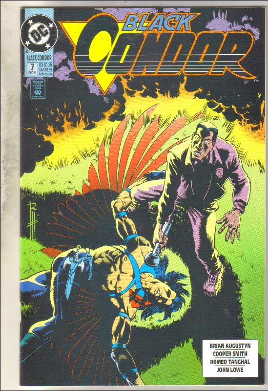 Black Condor #7 comic book near mint 9.4