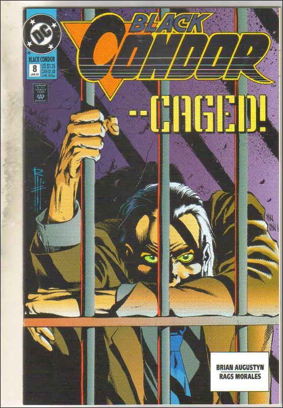Black Condor #8 comic book near mint 9.4