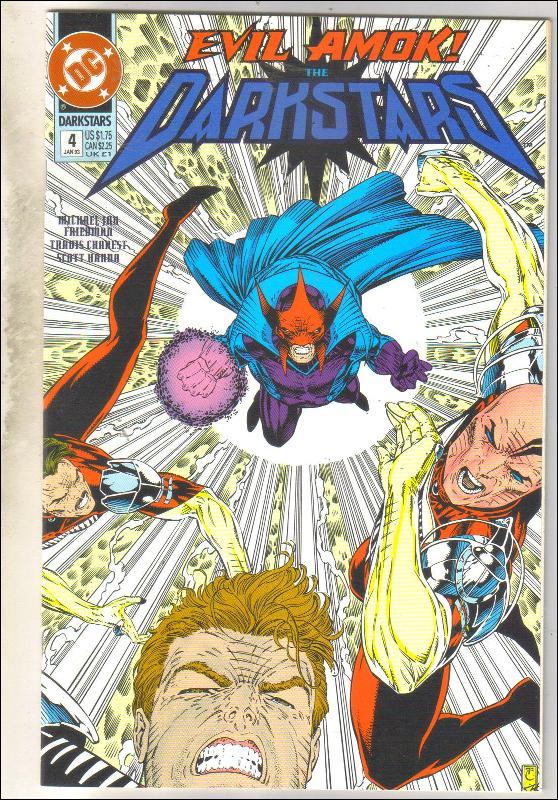 Darkstars #4 comic book mint 9.8