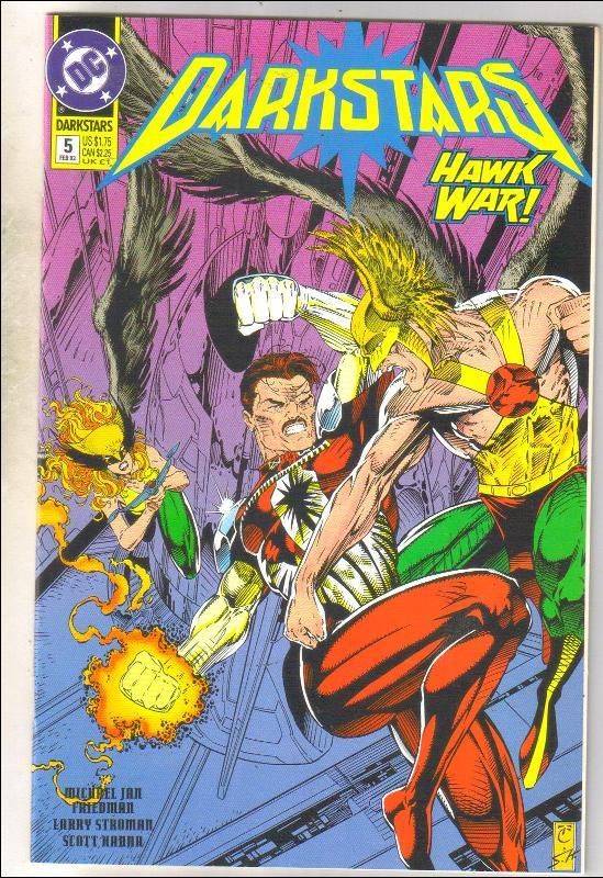 Darkstars #5 comic book mint 9.8