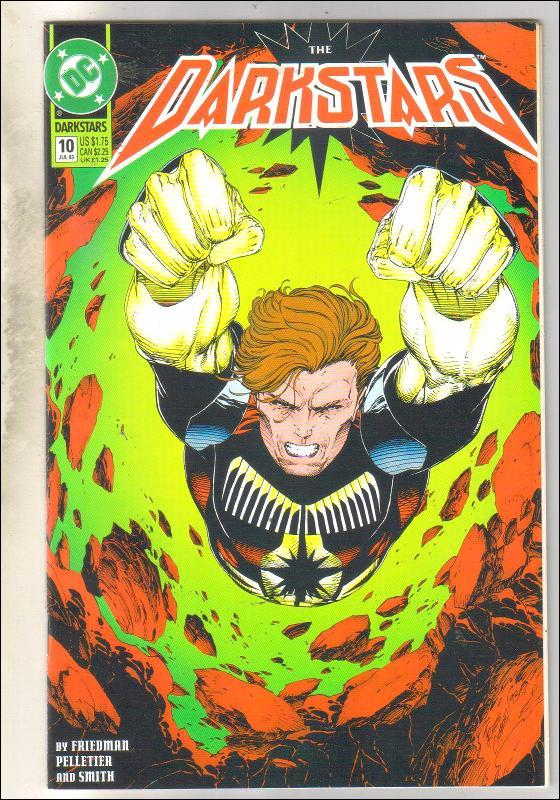 Darkstars #10 comic book near mint 9.4