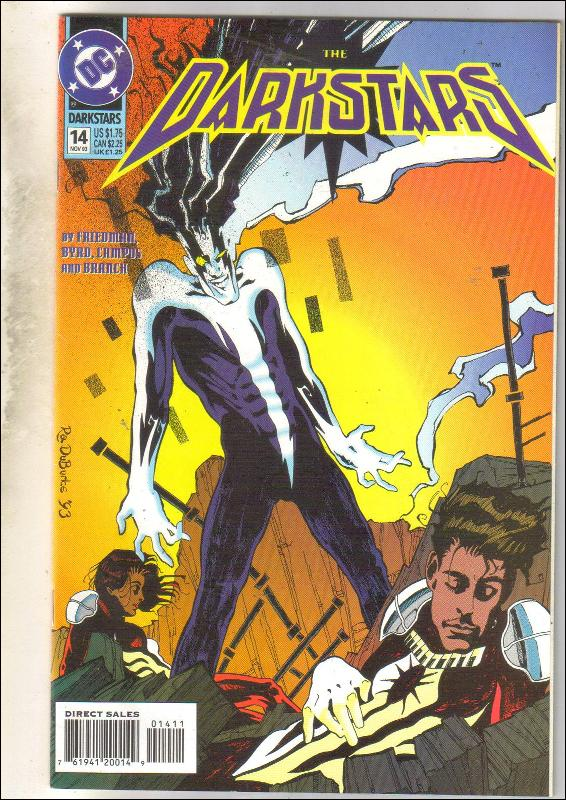 Darkstars #14 comic book near mint 9.4