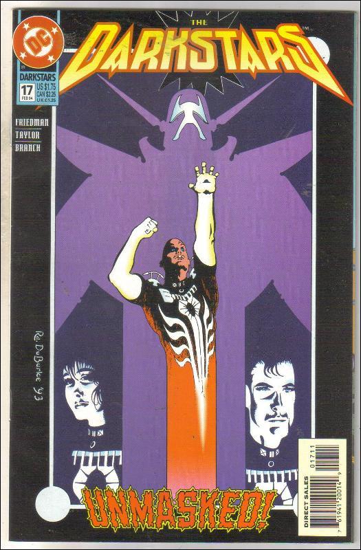 Darkstars #17 comic book near mint 9.4