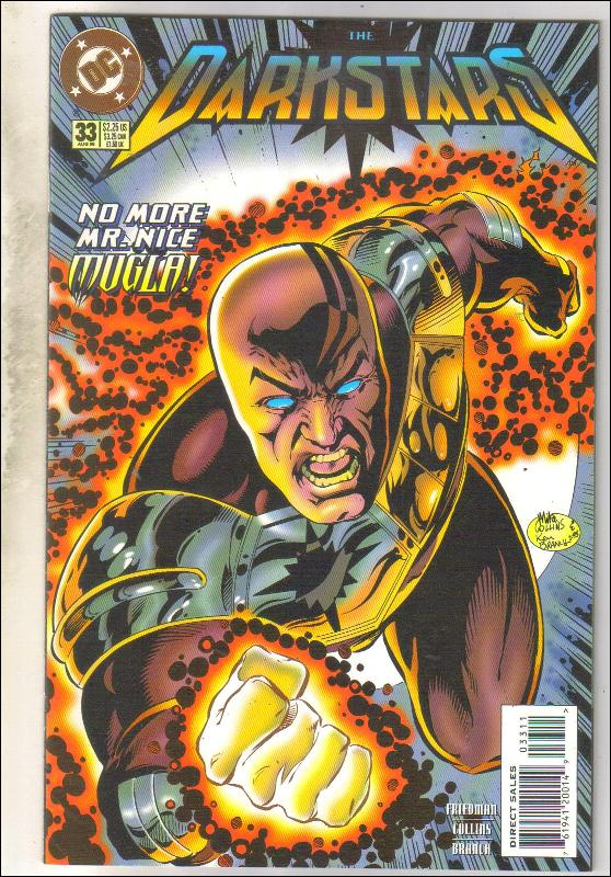 Darkstars #33 comic book near mint 9.4