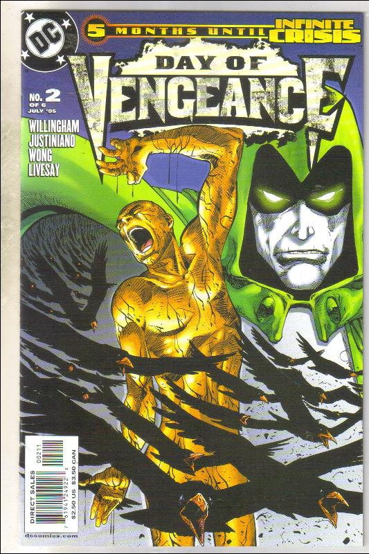 Day of Vengeance #2 comic book near mint 9.4