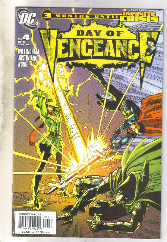 Day of Vengeance #4 comic book mint 9.8