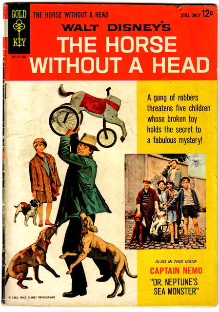 The Horse Without a Head  comic book very good 4.0