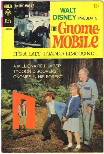 Gnome-mobile  comic book fine 6.0