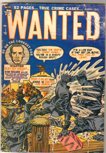 Wanted #35 comic book g/vg 3.0