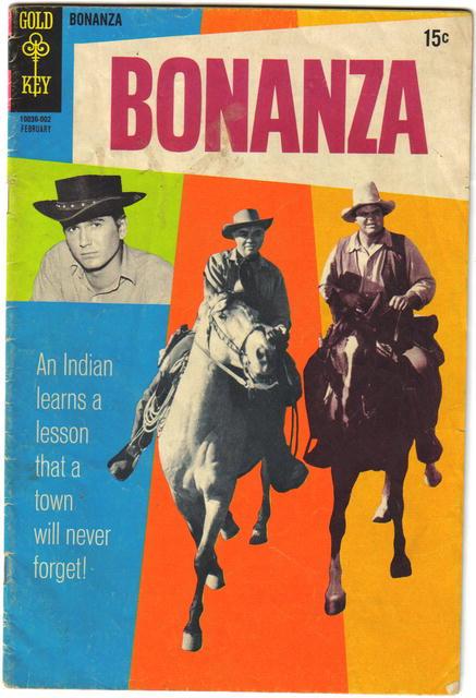 Bonanza #35 comic book good/very good 3.0