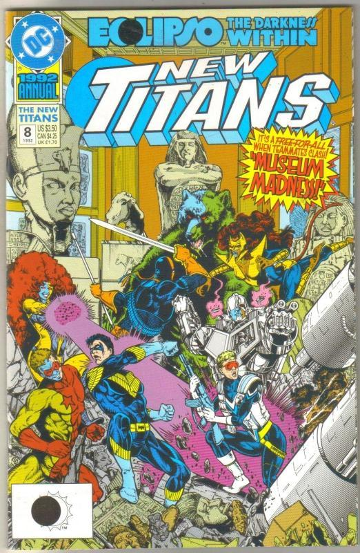 The New Titans Annual #8 comic book  mint 9.8