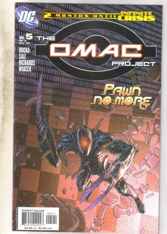 The Omac Project #5 (of 6) comic book mint 9.8