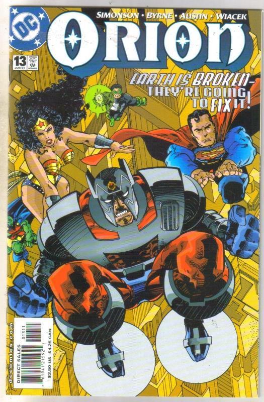 Orion #13 comic book near mint 9.4