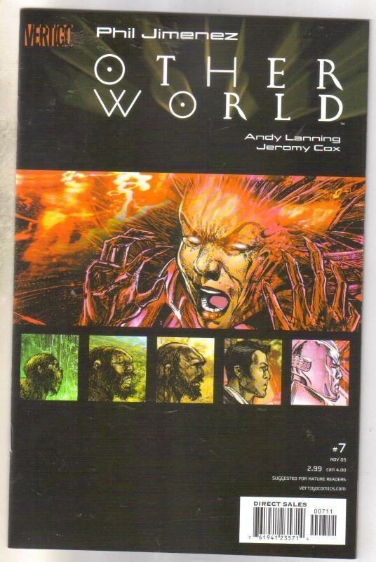 Other World #7 Vertigo comic book mint 9.8