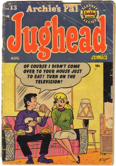 Archie's Pal Jughead #13 comic book fair 1.5