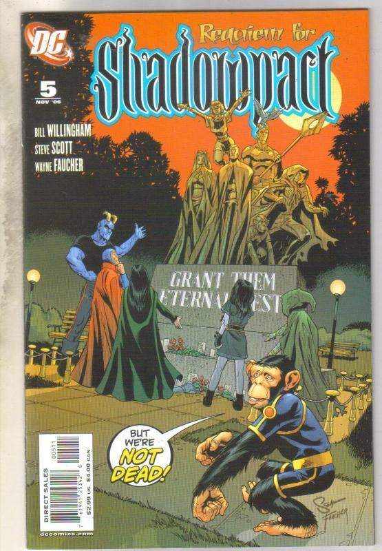 Shadowpact #5 comic book near mint 9.4