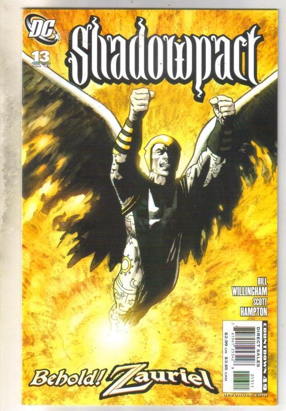 Shadowpact #13 comic book mint 9.8