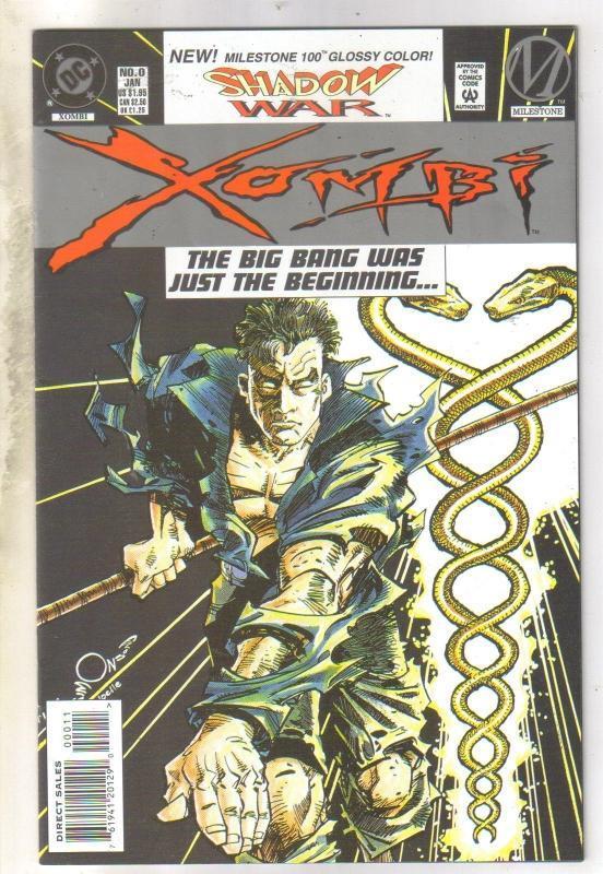 Shadow War Xombi #0 comic book near mint 9.4
