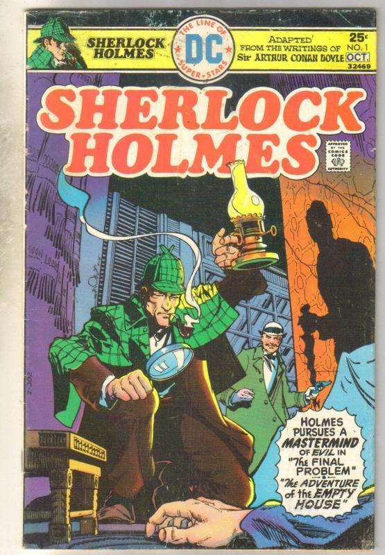 Sherlock Holmes #1 comic book very good 4.0
