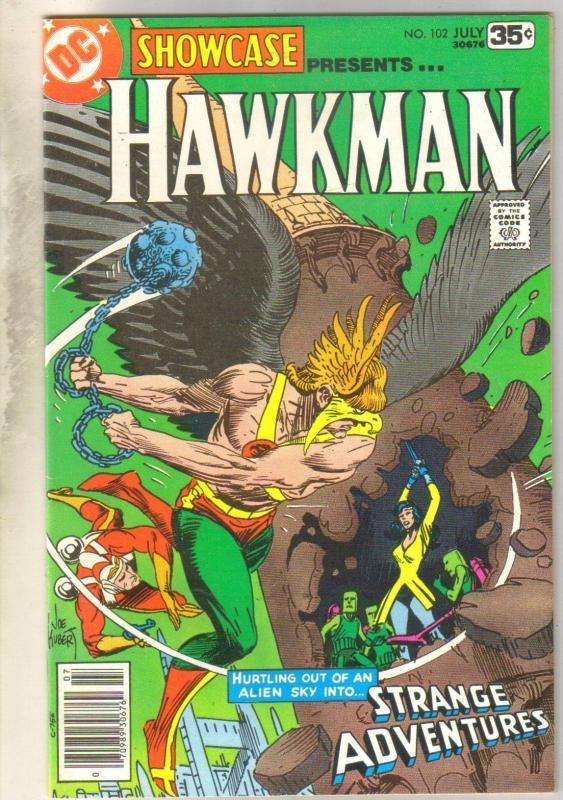 Showcase Presents #102 Hawkman comic book very fine/near mint 9.0