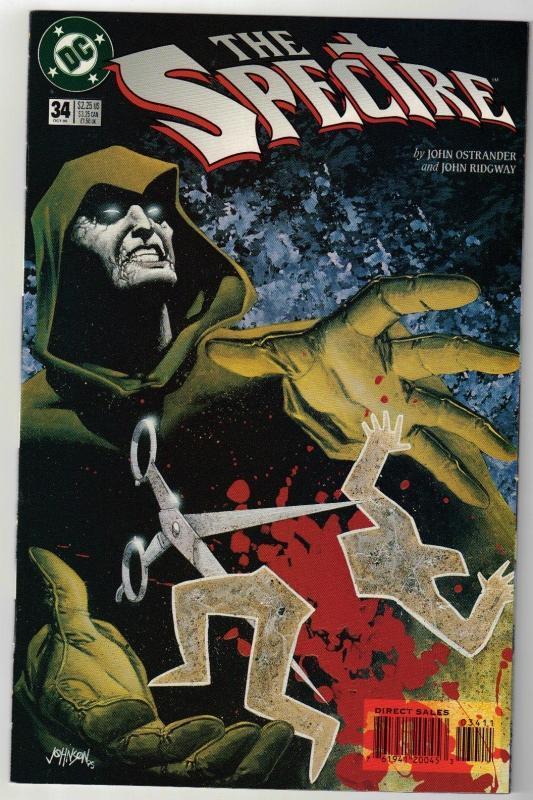 Spectre #34 comic book near mint 9.4