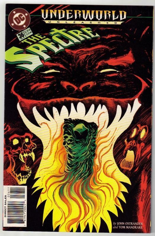 Spectre #36 comic book near mint 9.4