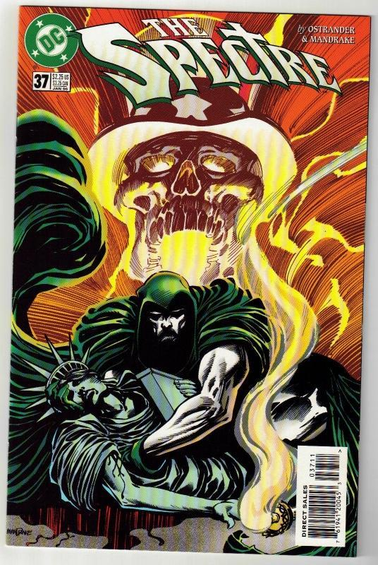 Spectre #37 comic book near mint 9.4