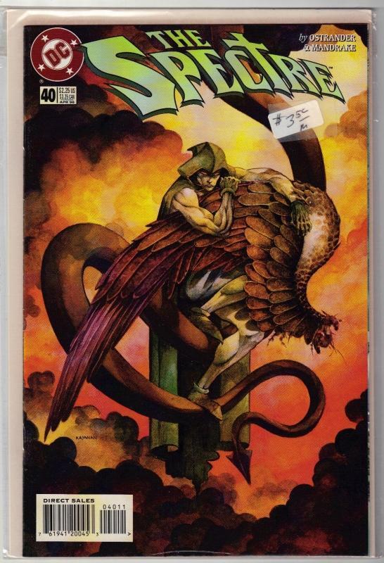 Spectre #40 comic book near mint 9.4