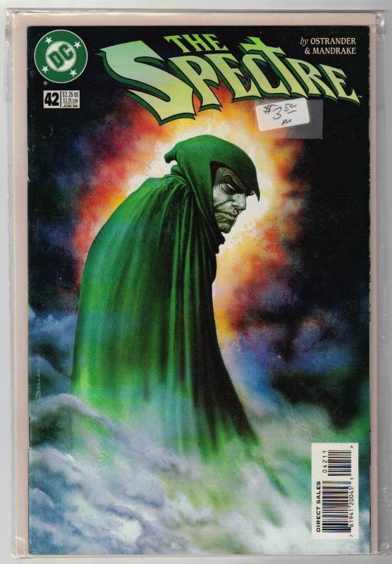 Spectre #42 comic book near mint 9.4