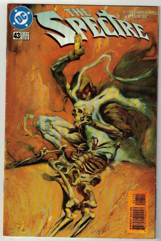 Spectre #43 comic book near mint 9.4
