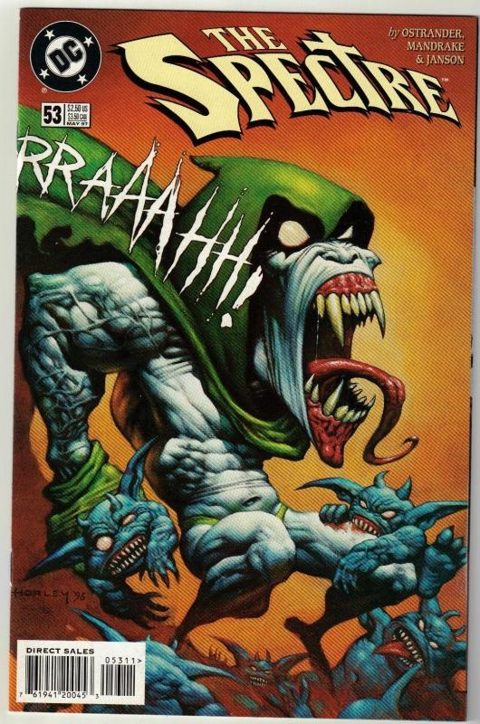 Spectre #53 comic book  mint 9.8