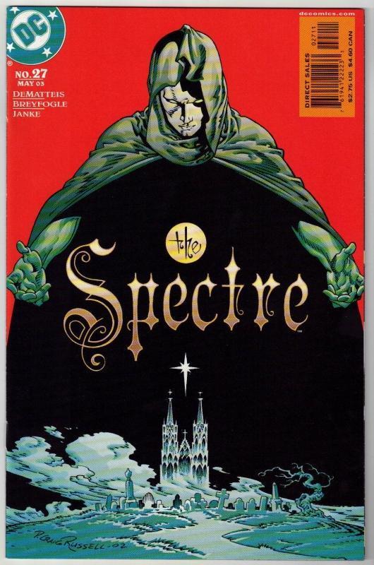 Spectre #27 comic book near mint 9.4