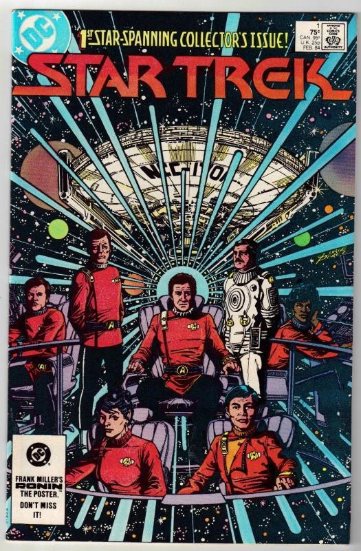 Star Trek #1 comic book near mint 9.4