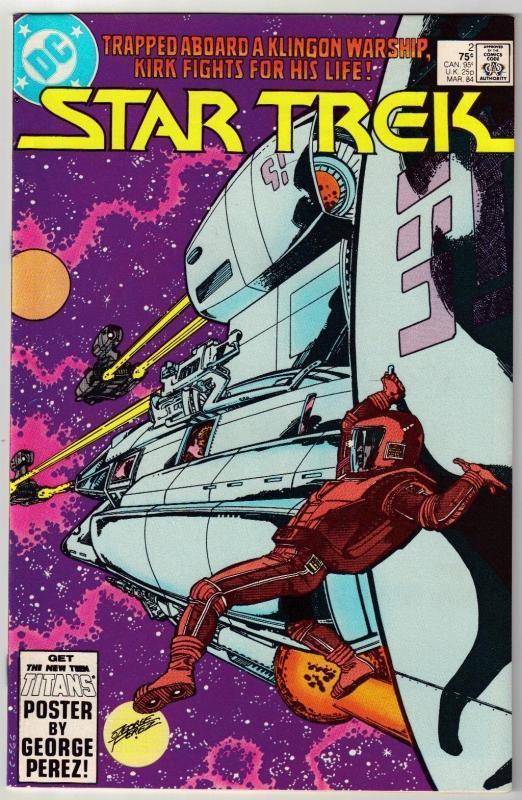 Star Trek #2 comic book near mint 9.4