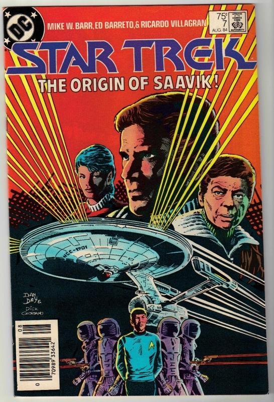 Star Trek #7 comic book near mint 9.4
