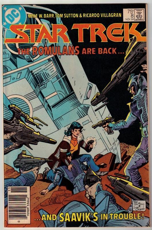 Star Trek #8 comic book near mint 9.4