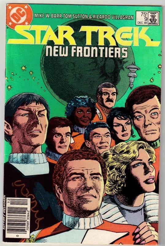 Star Trek #9 comic book near mint 9.4