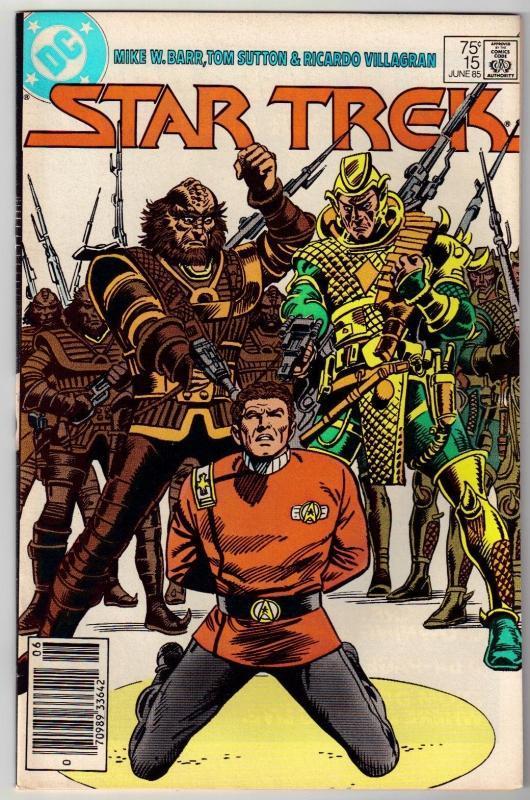 Star Trek #15 comic book near mint 9.4