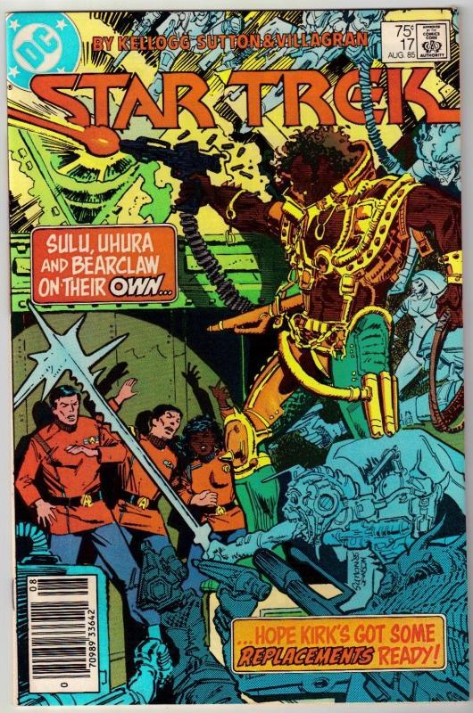 Star Trek #17 comic book near mint 9.4