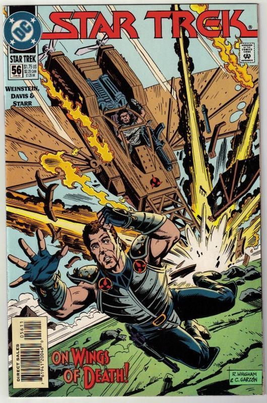 Star Trek #56 comic book near mint 9.4
