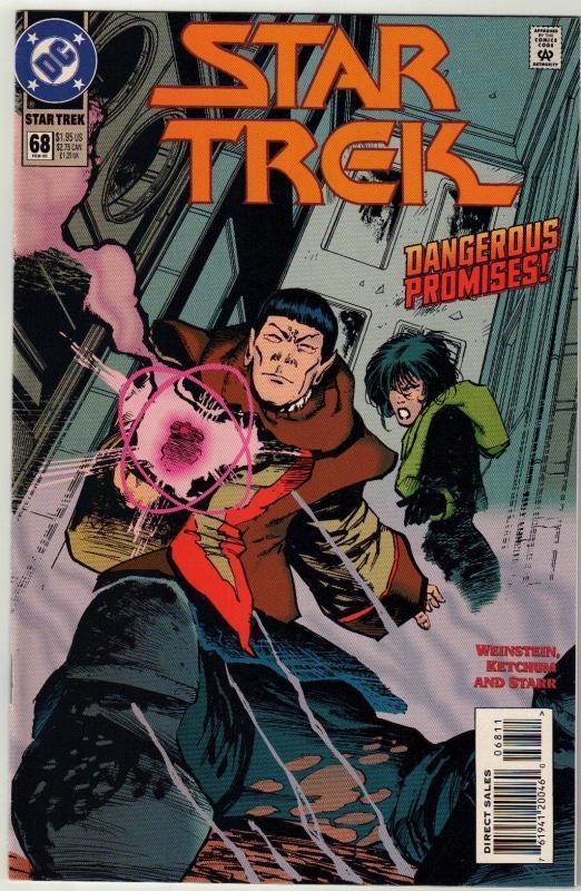 Star Trek #68 comic book near mint 9.4