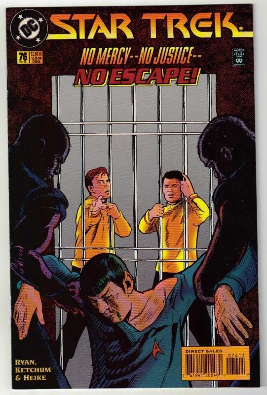 Star Trek #76 comic book near mint 9.4