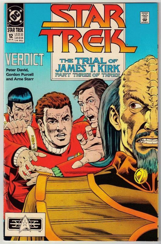 Star Trek #12 comic book near mint 9.4