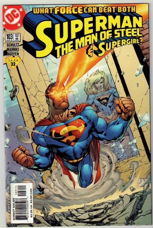 Superman  The Man of Steel #103 comic book mint 9.8