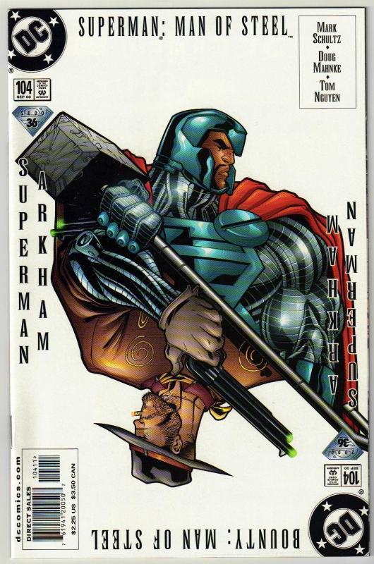 Superman  The Man of Steel #104 comic book mint 9.8