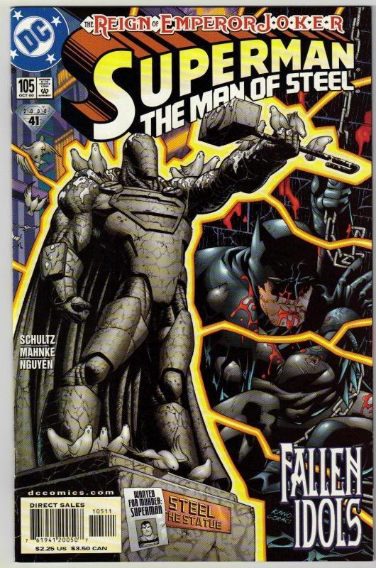 Superman  The Man of Steel #105 comic book mint 9.8