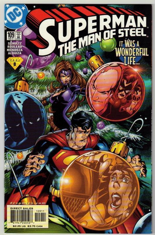 Superman  The Man of Steel #109 comic book mint 9.8