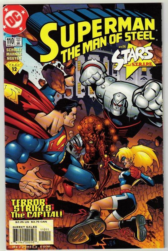 Superman  The Man of Steel #110 comic book near mint 9.4