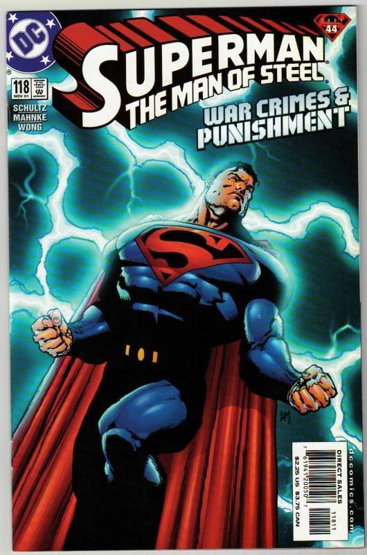 Superman  The Man of Steel #118 comic book mint 9.8